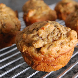 Peach Beet Summer Sunshine Muffins