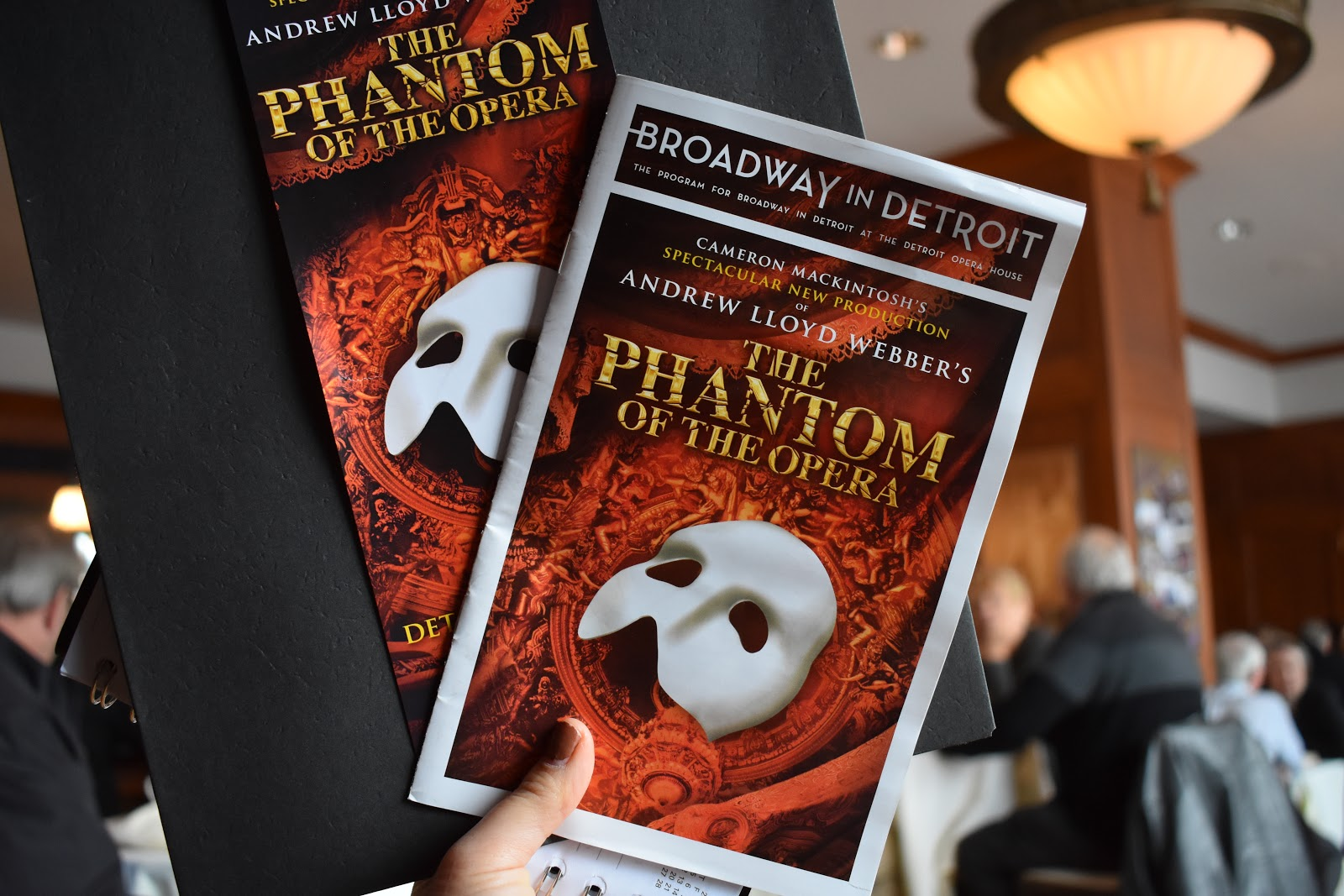 Phantom of the Opera at the Detroit Opera House
