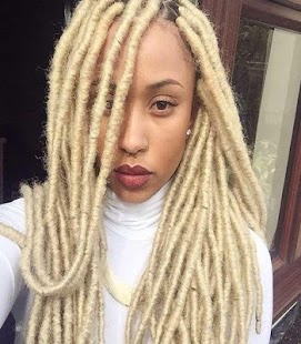 Blonde Faux Locs Hairstyle - Android Apps on Google Play