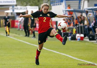 """Davina Philtjens: """"Misschien te nerveus tegen Denemarken, dat moet veranderen"""""""