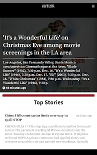 Inland Valley Daily Bulletin- screenshot thumbnail