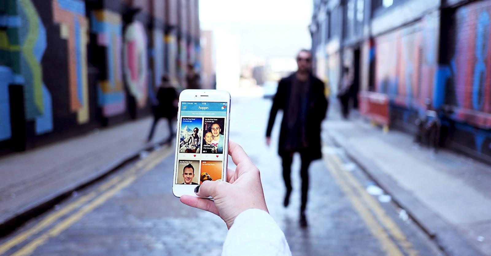 Image of Happn app