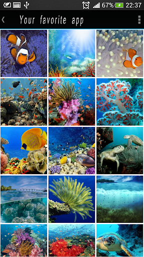 Underwater HD Lockscreen