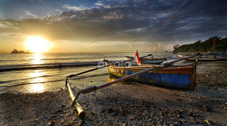 by Irwan Budiman - Transportation Boats