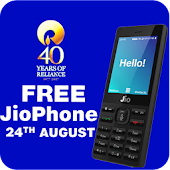 Free Jio 4G Feature Phone Booking