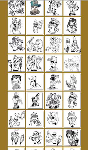 Drawing Graffiti Characters 1.1.2 screenshots 9