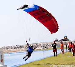 Photo: 3rd Dubai International Parachuting Championship 2011, Brice Bernier, Speed Round, photo Laurent Stéphane Montfort