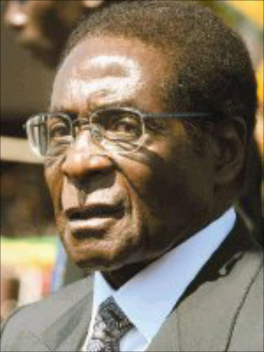 RUTHLESS DICTATOR: Robert Mugabe's government is facing the worst economic crisis since Zimbabwe's independence in 1980. 06/08/04. © AP.  ZERO-RATED: Robert Mugabe. Business Day Weekender, 13-14 July 2007, page 6.