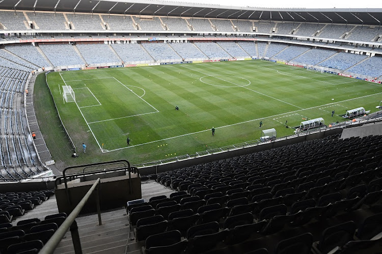 General View of inside and outside the Stadium during the Tokyo 2020 Olympic Women's Qualifier match between South Africa and Botswana at Orlando Stadium on September 03, 2019 in Johannesburg, South Africa.