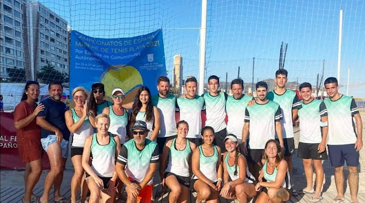 El club Tenis Playa Cabogata representa a Andalucía