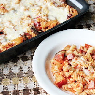 Skinny Hawaiian Pizza Pasta
