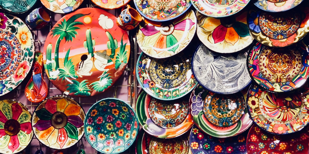 Handicrafts in Puerto Vallarta Mexico