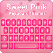 Sweet Pink Keyboard Theme