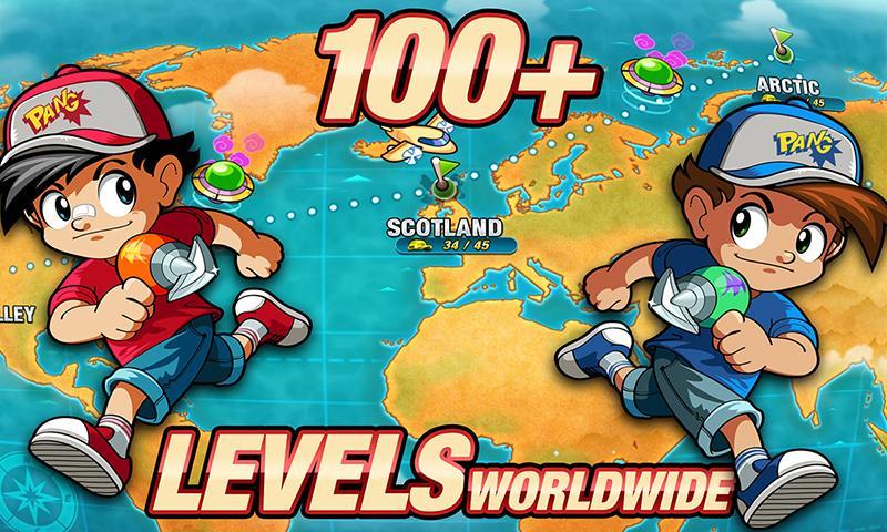 Pang Adventures screenshot #5