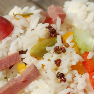Sweet and Sour Rice Salad