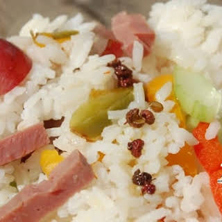 Sweet and Sour Rice Salad.