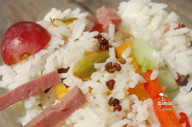 Sweet and Sour Rice Salad Recipe