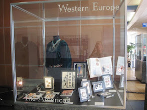 "Photo: ""West"" - native American clothing with silver & turquoise jewelry and other buttons from the ""West"""