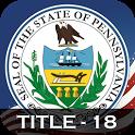 PA Crimes Offenses Title 18 icon