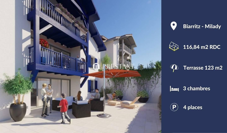 Appartement avec terrasse Biarritz
