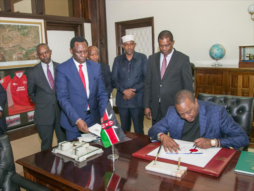 Swell Uhuru Signs Law Granting 15 Tax Relief To House Buyers Beutiful Home Inspiration Ommitmahrainfo