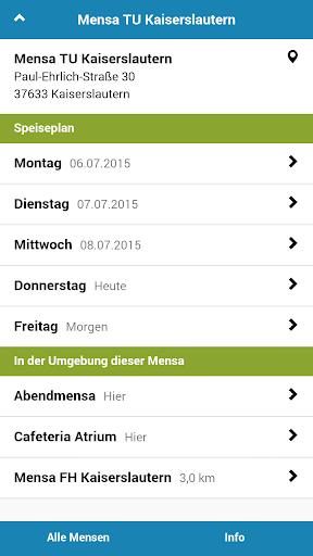 Mensa Kaiserslautern
