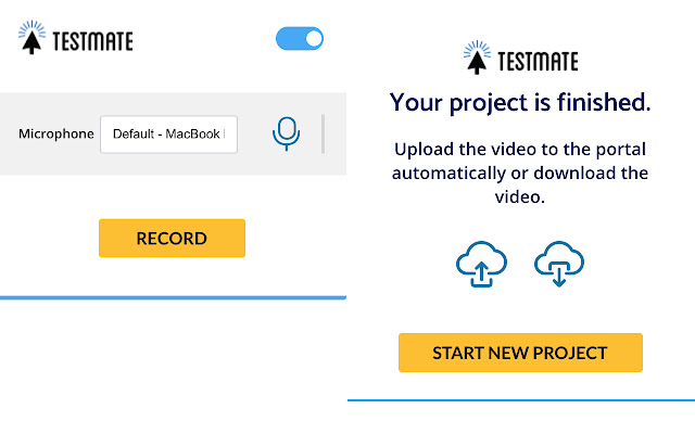 TestMate screen recorder
