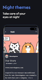 Maki: Facebook and Messenger in one awesome app 3