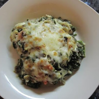 Spinachy Green Chilaquiles