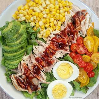Slow Cooker Honey-BBQ Chicken Salad