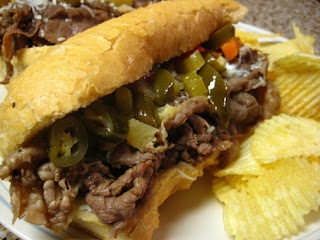 Crockpot Po' Boys (or Italian Beef) Sandwiches Recipe