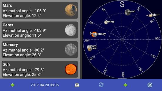 Slunce, Měsíc a planety - náhled