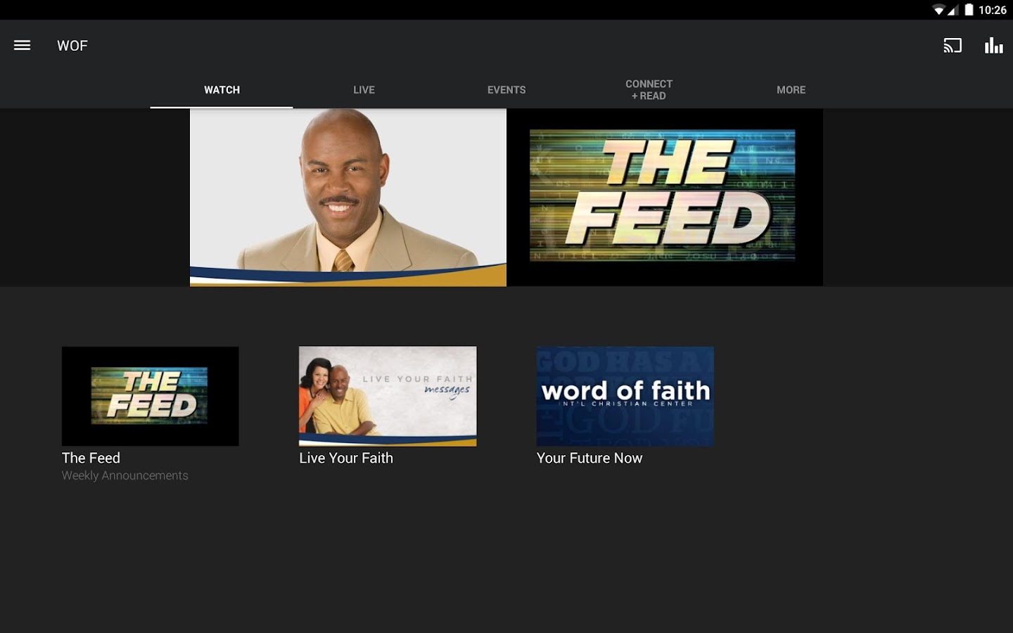 Word of Faith- screenshot