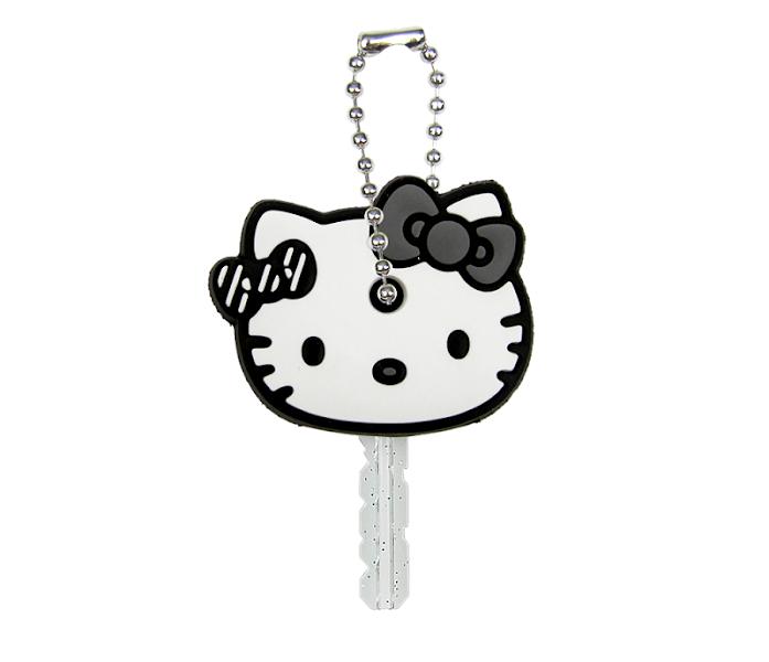 Photo: Hello Kitty Key Cap: Face Monochrome http://bit.ly/M1CoGJ