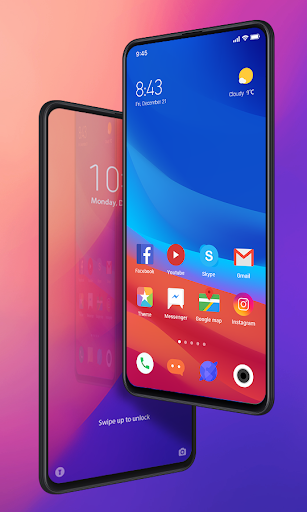 Mi Launcher-Customized themes and cool icon packs 1.0.1 screenshots 1