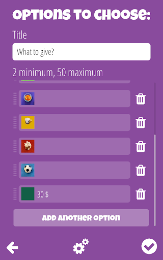 Decision Roulette 3.0.70 screenshots 2