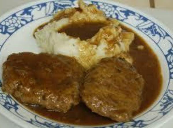 Lisa's Salibury Steak With Brown Gravy Recipe