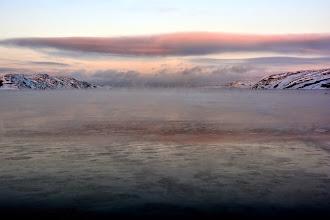 Photo: Steaming ocean