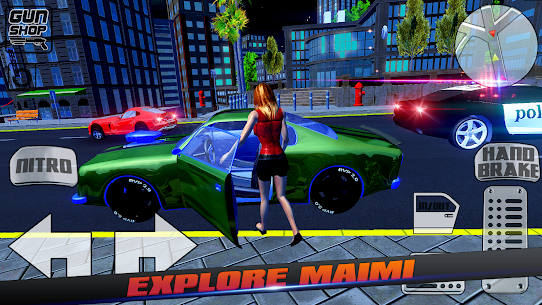 Miami Gangster Girl 1.0.0.0 [Mod + APK] Android 2