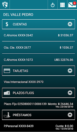 Banca Móvil Banco Hipotecario 3.7.0 screenshot 2091768