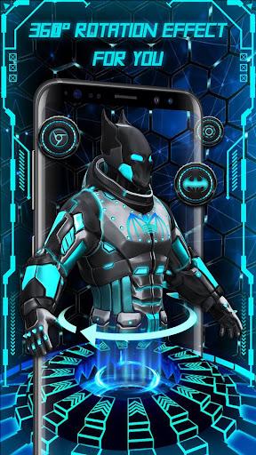 Download 3D Bat Superhero Launcher for Free MOD APK 2