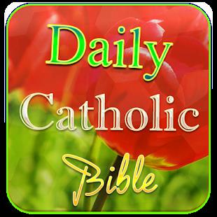 Daily Catholic Bible - náhled