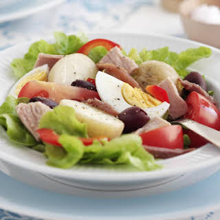 French Nicoise Salad.