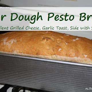 Sour Dough Pesto Bread