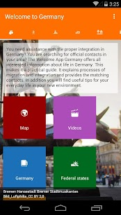 Welcome App Germany- screenshot thumbnail