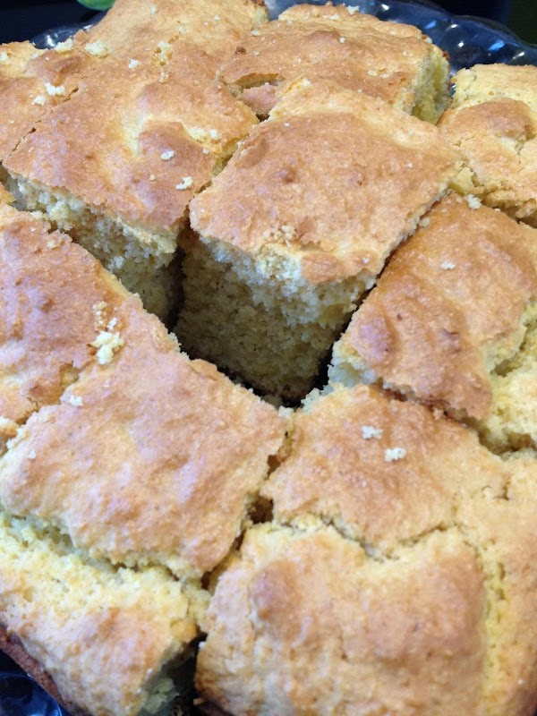 This is an awesome corn bread..and where as corn bread isn't really healthy..this is...