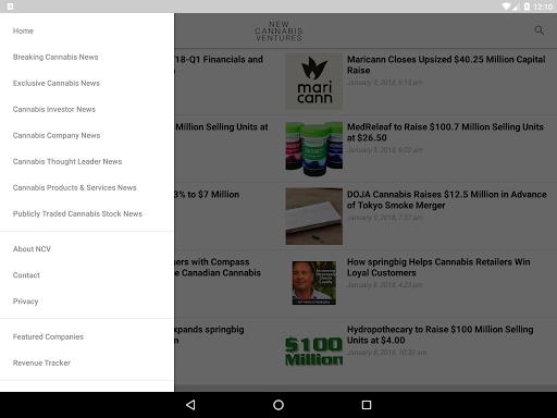 New Cannabis Ventures screenshot 7
