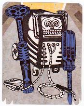 Photo: Wenchkin's Mail Art 366 - Day 251 - Card 251a