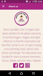 Mums Say Radio - náhled