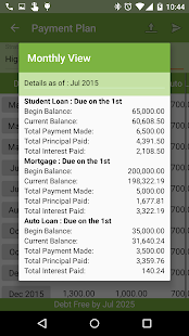 Debt Payoff Free- screenshot thumbnail